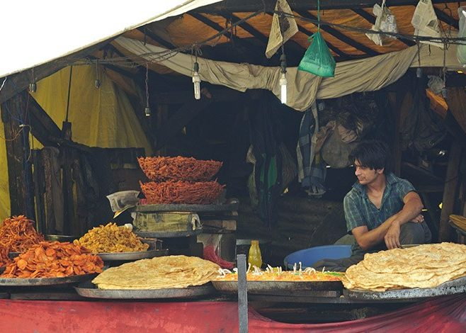 Indian Market Food | Jammu and Kashmir | India