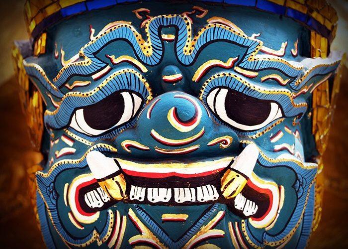 Giant Ravana Sculpture | Bangkok | Thailand | Asia