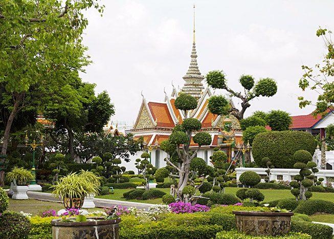 Wat Arun Temple   Bangkok   Thailand   Asia