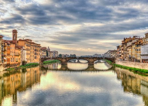 Arno River | Florence | Italy | Europe