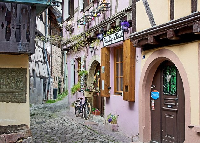 Old Town | Alsace | France | Europe